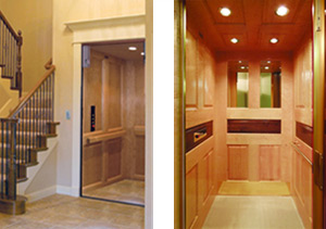 Northwest elevations residential elevator and mobility for Homes with elevators for sale